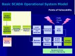 basic scada operational system model