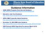 guidance information