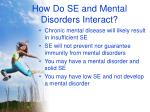 how do se and mental disorders interact24
