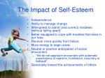 the impact of self esteem