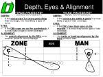 depth eyes alignment