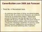 careerbuilder com 2009 job forecast23