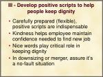 iii develop positive scripts to help people keep dignity