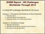 shrm report hr challenges worldwide through 201529