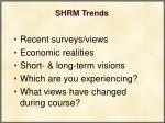 shrm trends