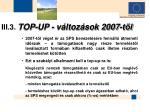 iii 3 top up v ltoz sok 2007 t l