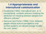 1 4 appropriateness and intercultural communication