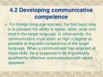 4 2 developing communicative competence