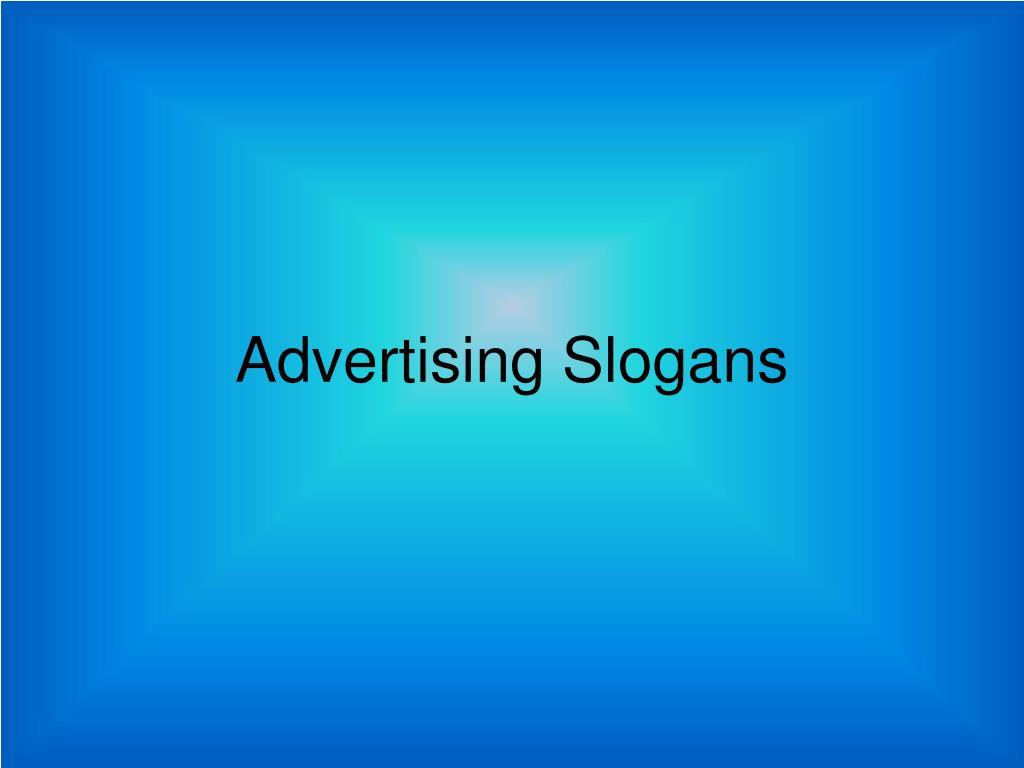 advertising slogans l.