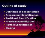 outline of study