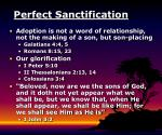 perfect sanctification26