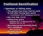 positional sanctification13