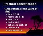 practical sanctification21
