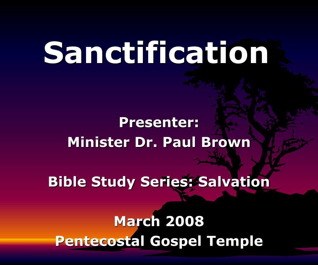 sanctification l.
