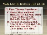 made like his brethren heb 2 1 183