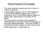 grammatical examples48