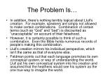 the problem is17