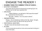 engage the reader 1