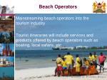 beach operators