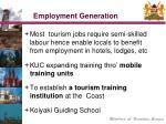 employment generation
