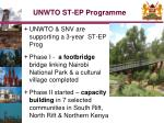 unwto st ep programme
