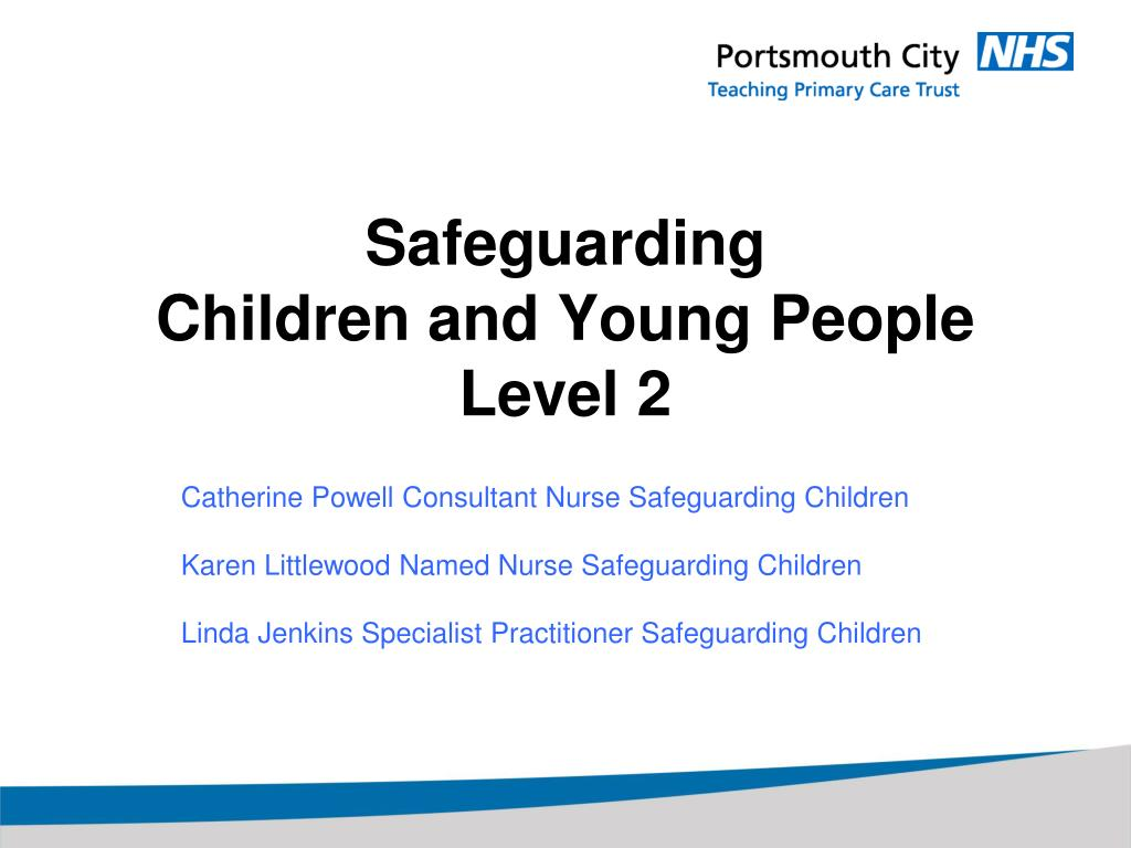 safeguarding children and young people level 2 l.