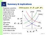 summary implications18