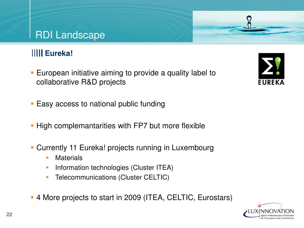 European initiative aiming to provide a quality label to collaborative R&D projects