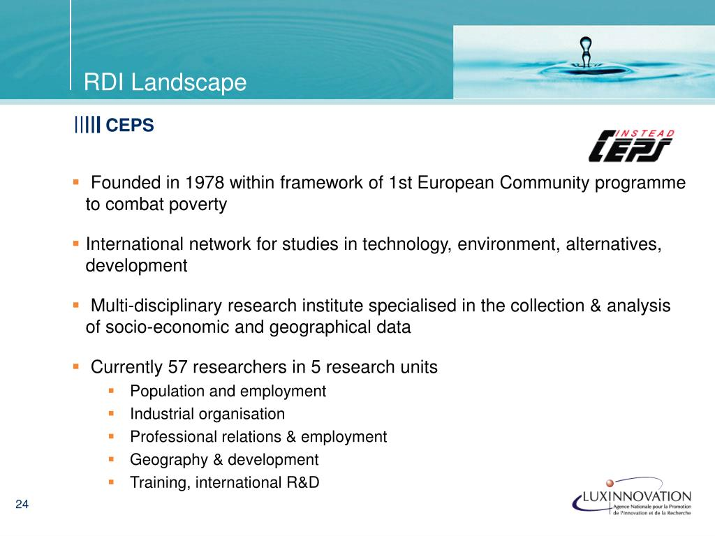Founded in 1978 within framework of 1st European Community programme to combat poverty