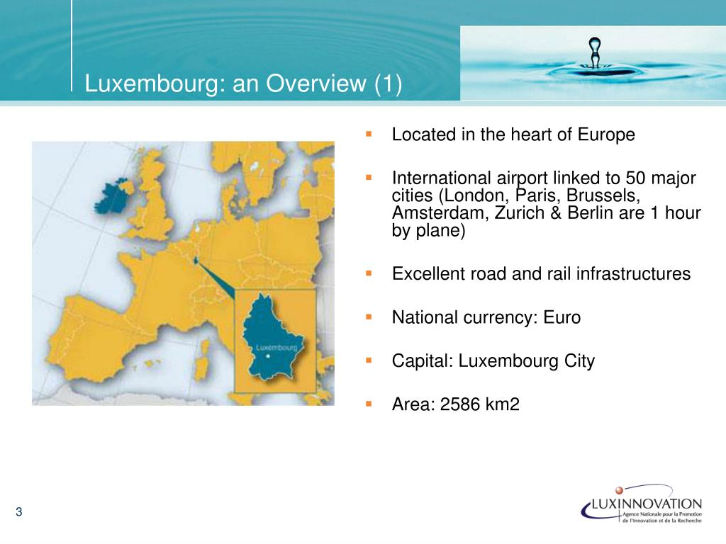 Luxembourg: an Overview (1)