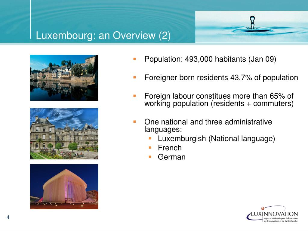 Luxembourg: an Overview (2)