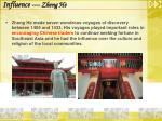influence zheng he