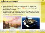 influence zheng he22