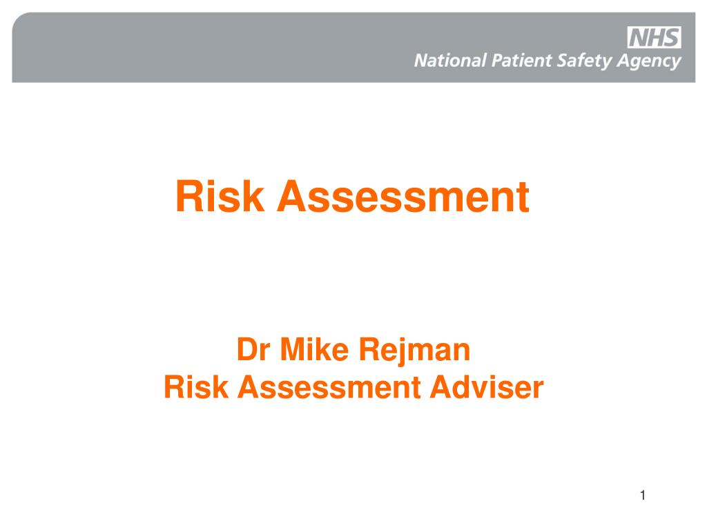 risk assessment l.