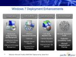 windows 7 deployment enhancements