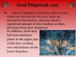 seed dispersal cont35