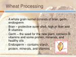 wheat processing