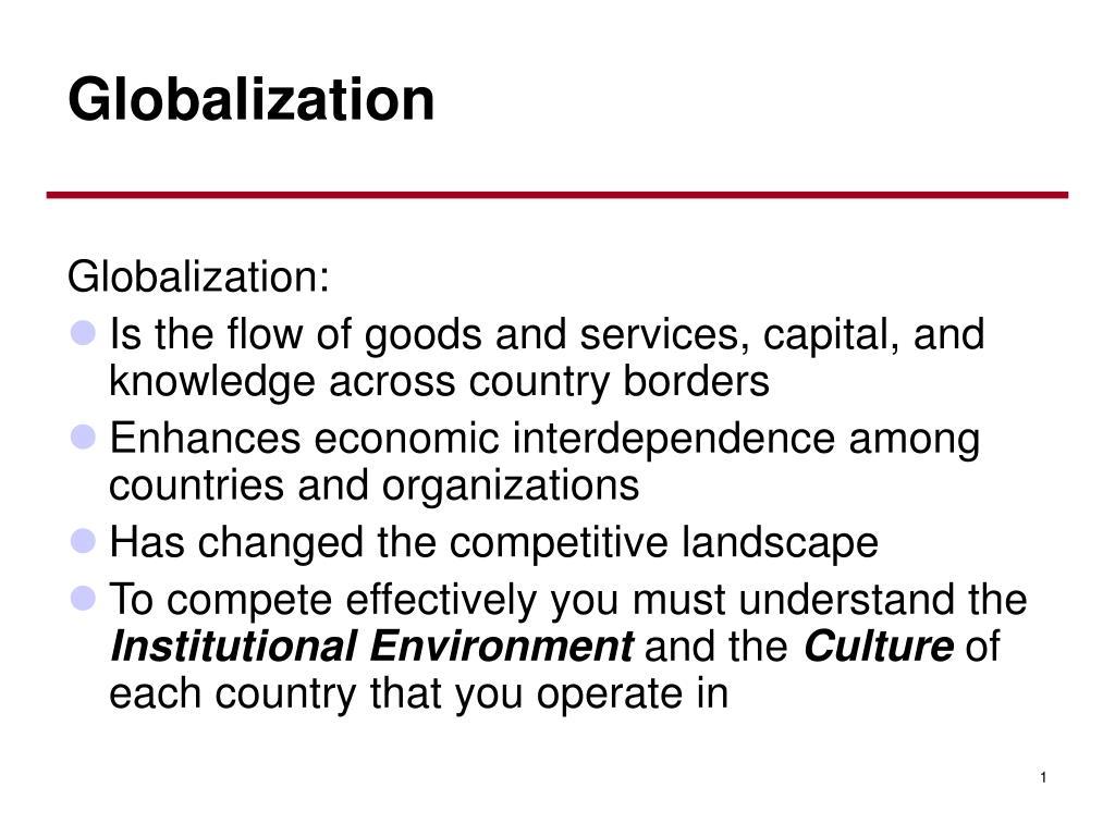 globalization l.