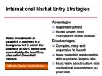 international market entry strategies17