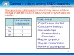 current practices among sadc countries16
