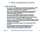 3 policy development cont d27