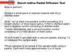 starch iodine radial diffusion test12