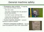 general machine safety6
