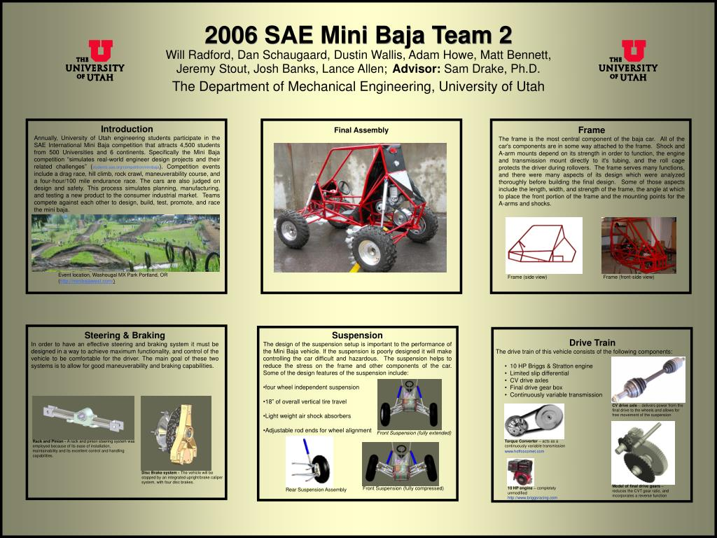 2006 sae mini baja team 2 l.