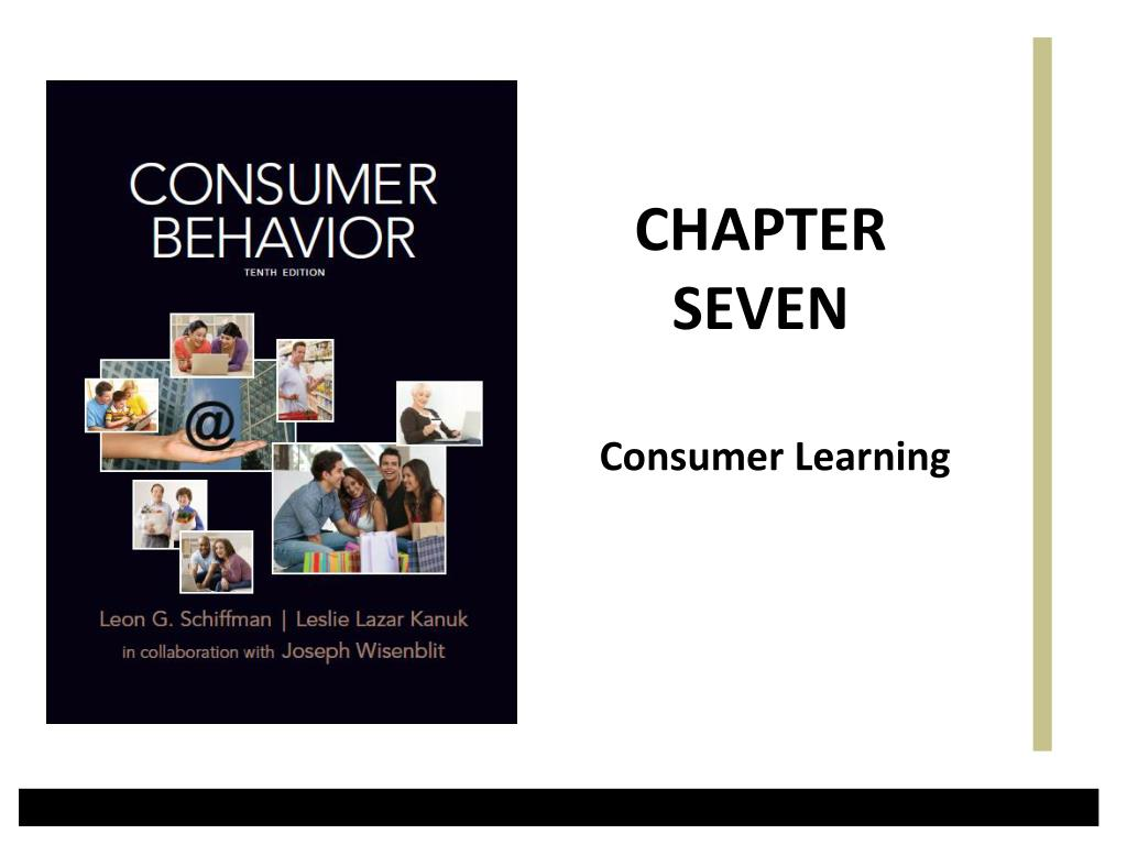 consumer learning l.
