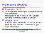 pre reading activities19