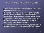boffins unveil life like robogirl