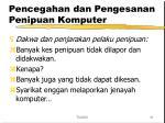 pencegahan dan pengesanan penipuan komputer31