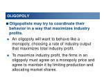 oligopoly vs competition