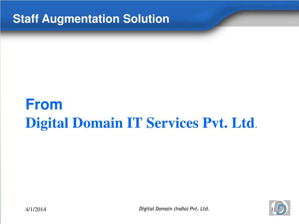 from digital domain it services pvt ltd l.